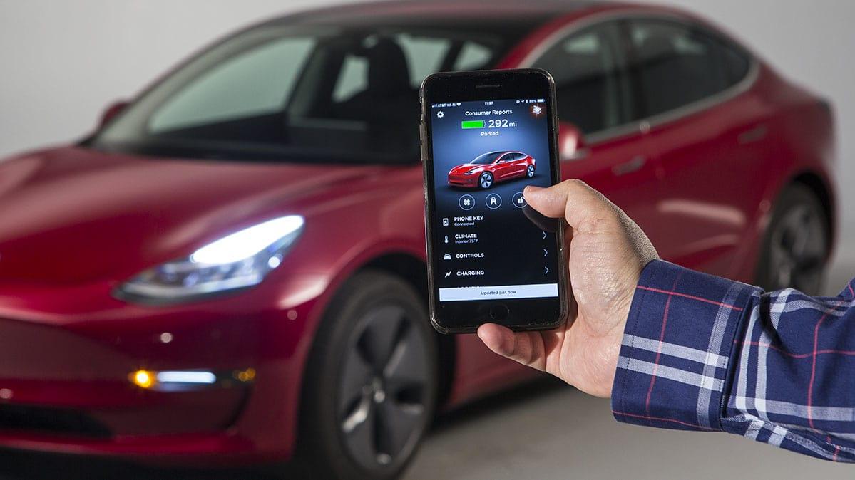 Tesla Model S Model X Will Feature Smartphone Keys Soon