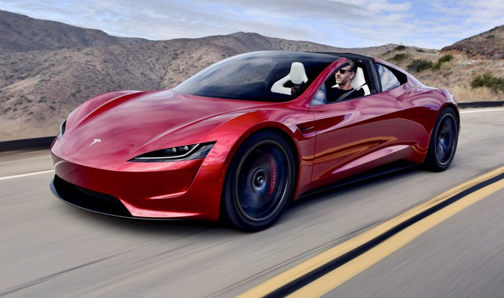 Elon Musk Hints At Tesla Roadsters Hovering Abilities In Spacex