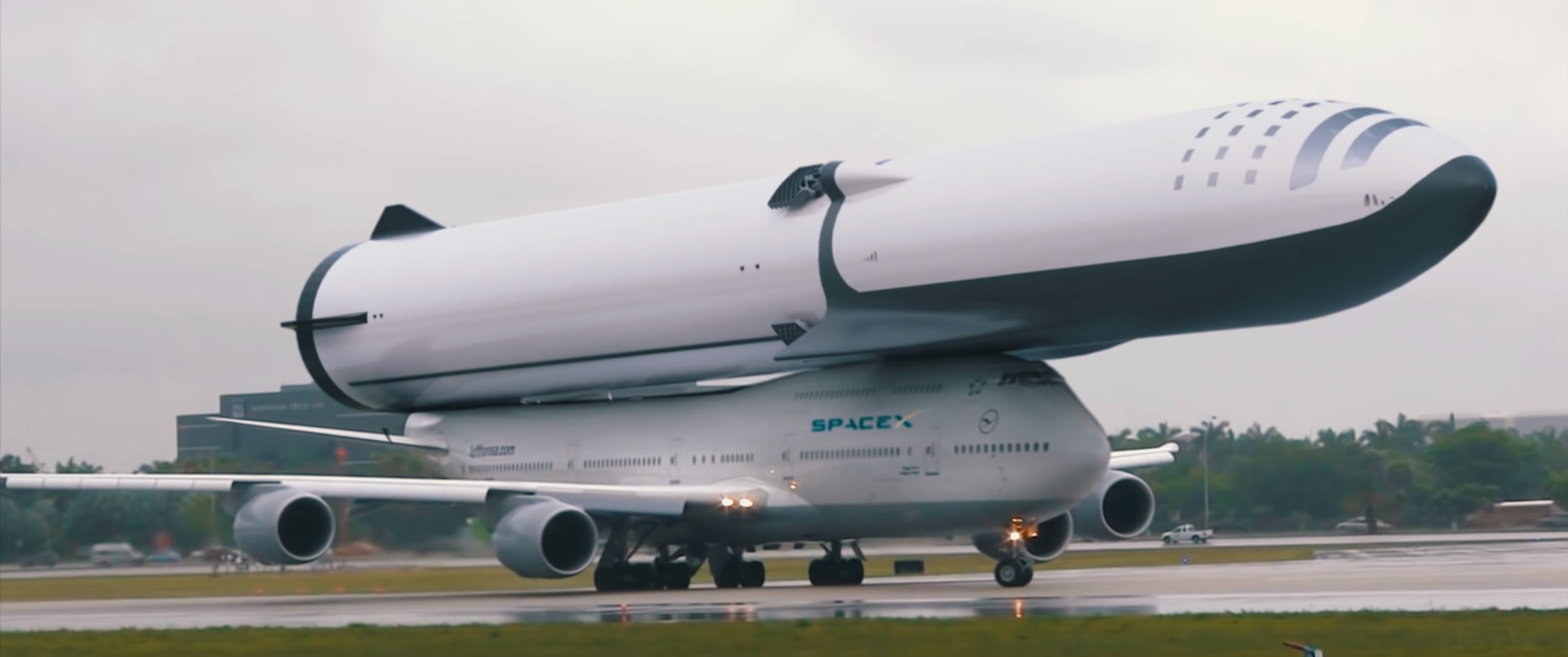 BFR on a 747 (sirwrender)