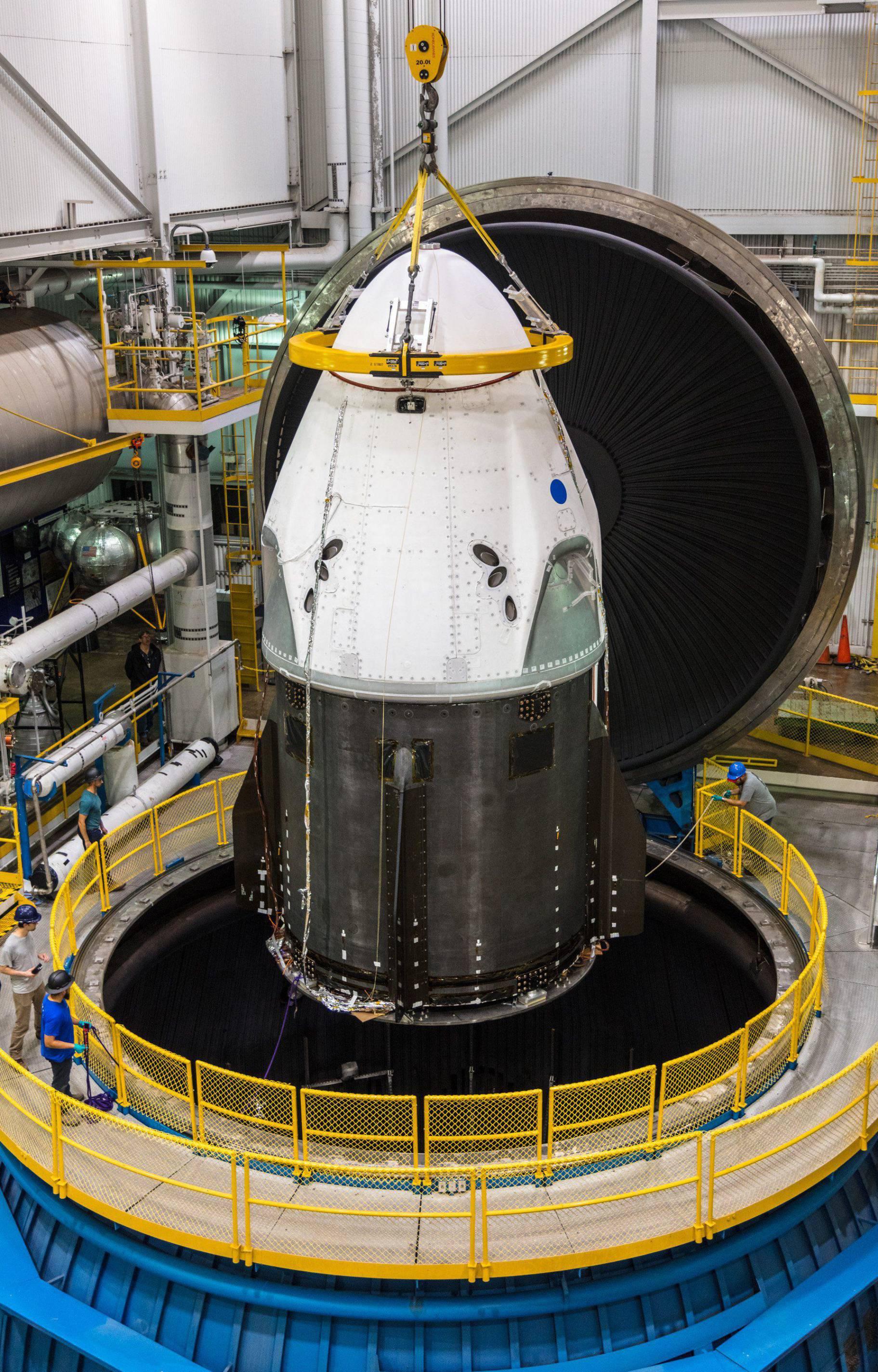 DM-1 at Plum Brooke June 2018 (SpaceX) twitter