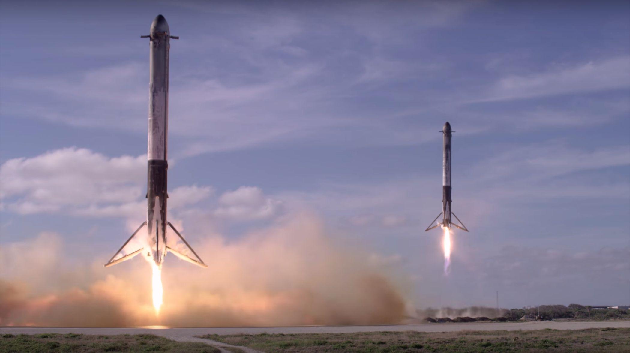 Fh Landing Spacex Png Teslarati