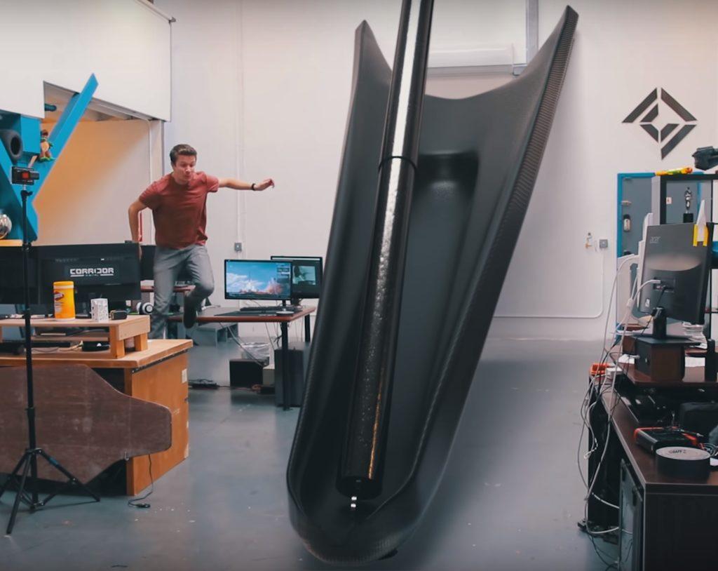 Falcon 9 Landing Leg Scale Sirwrender Teslarati