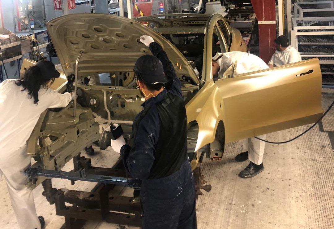 Model 3 paint shop (Elon Musk)