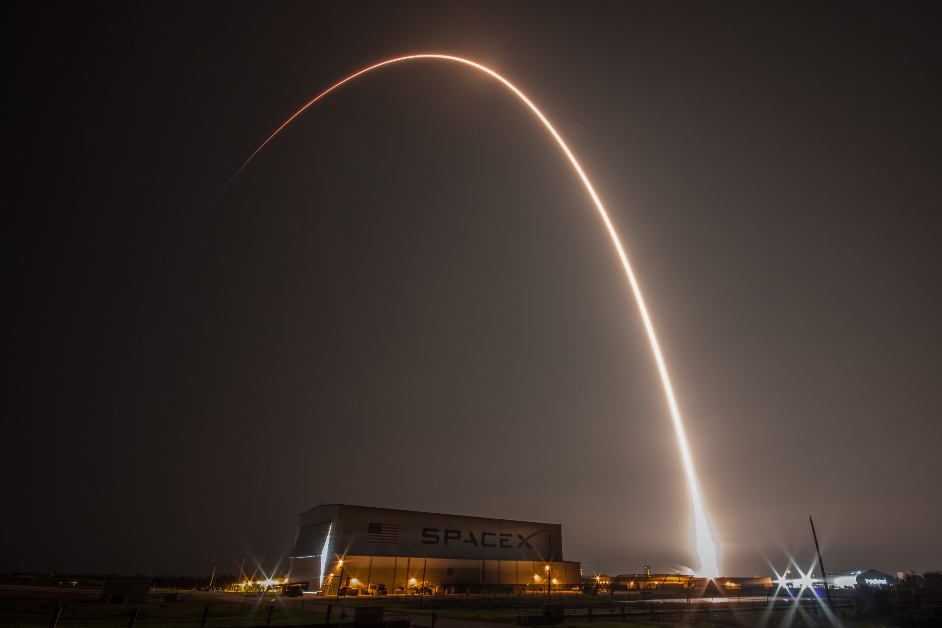 SES-12 launch streak (SpaceX)