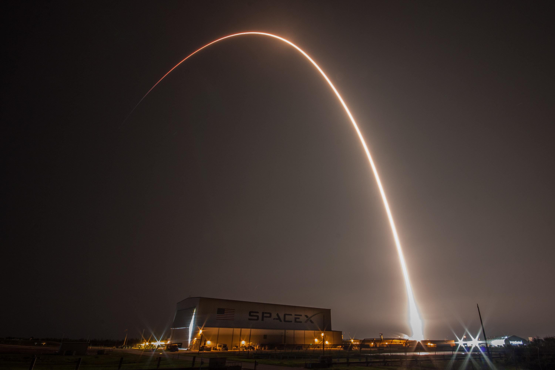 SES-12 launch streak (SpaceX)