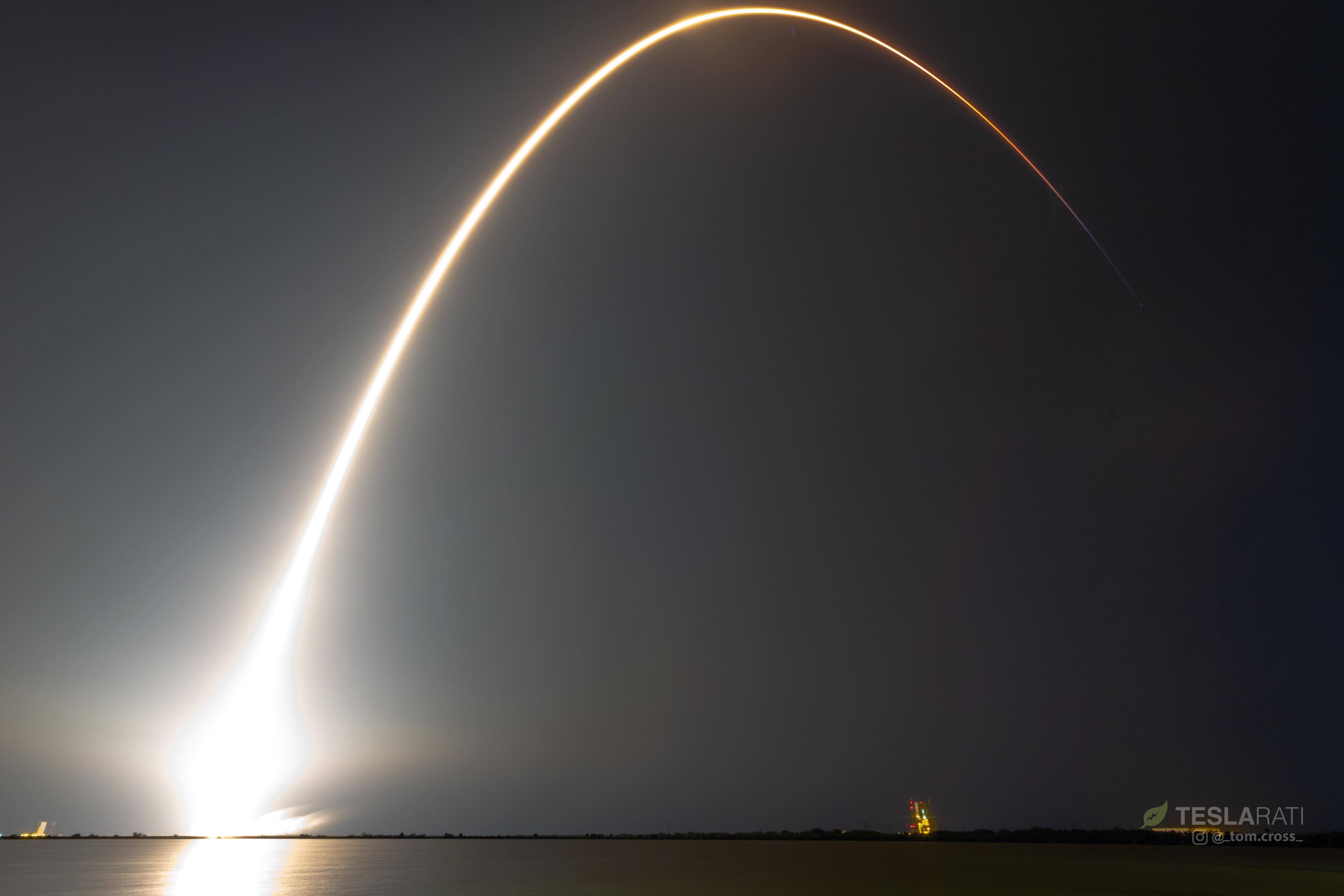 SES-12 streak cleaaaannnn (Tom Cross)