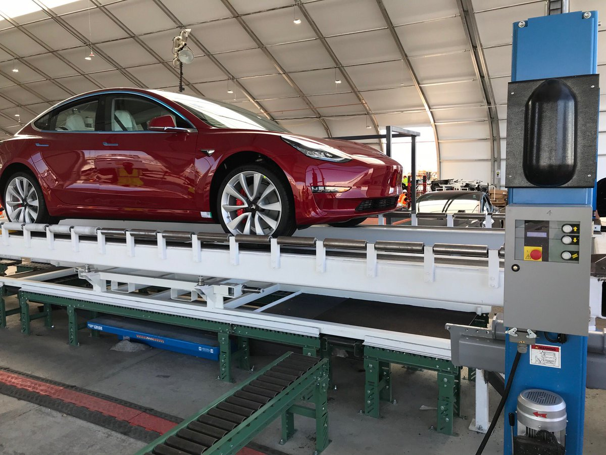 Tesla Model 3 production in Gigafactory 3 to begin in second half of 2019: report