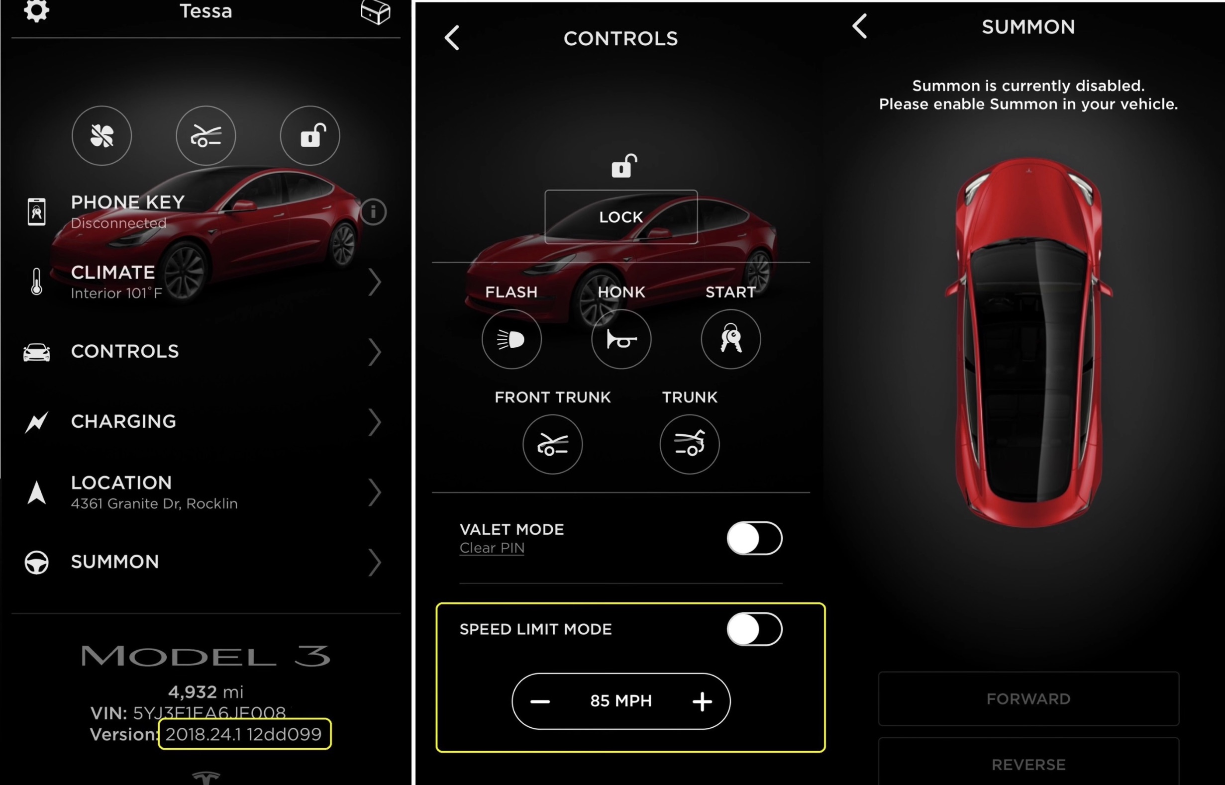 tesla-app-model-3-speed-limit-mode