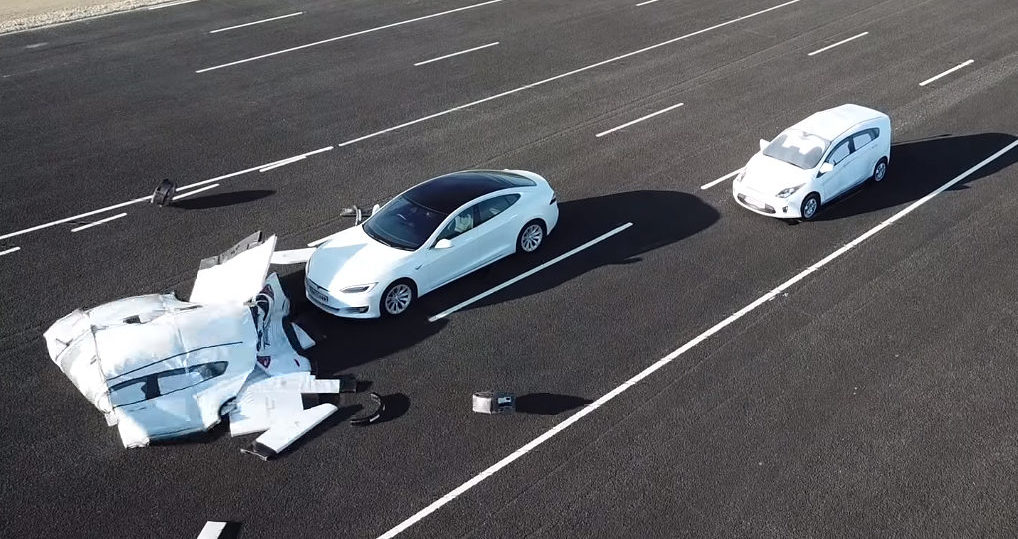 Research group demos why Tesla Autopilot could crash into a ...