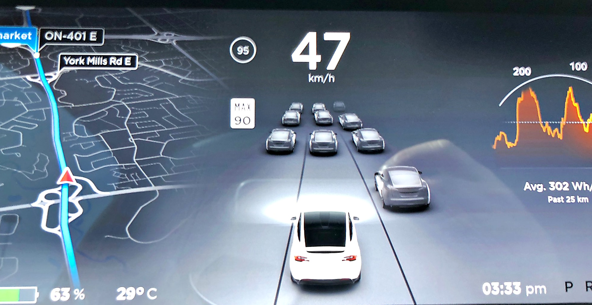Tesla S Latest Autopilot Update Improves Vehicle Detection