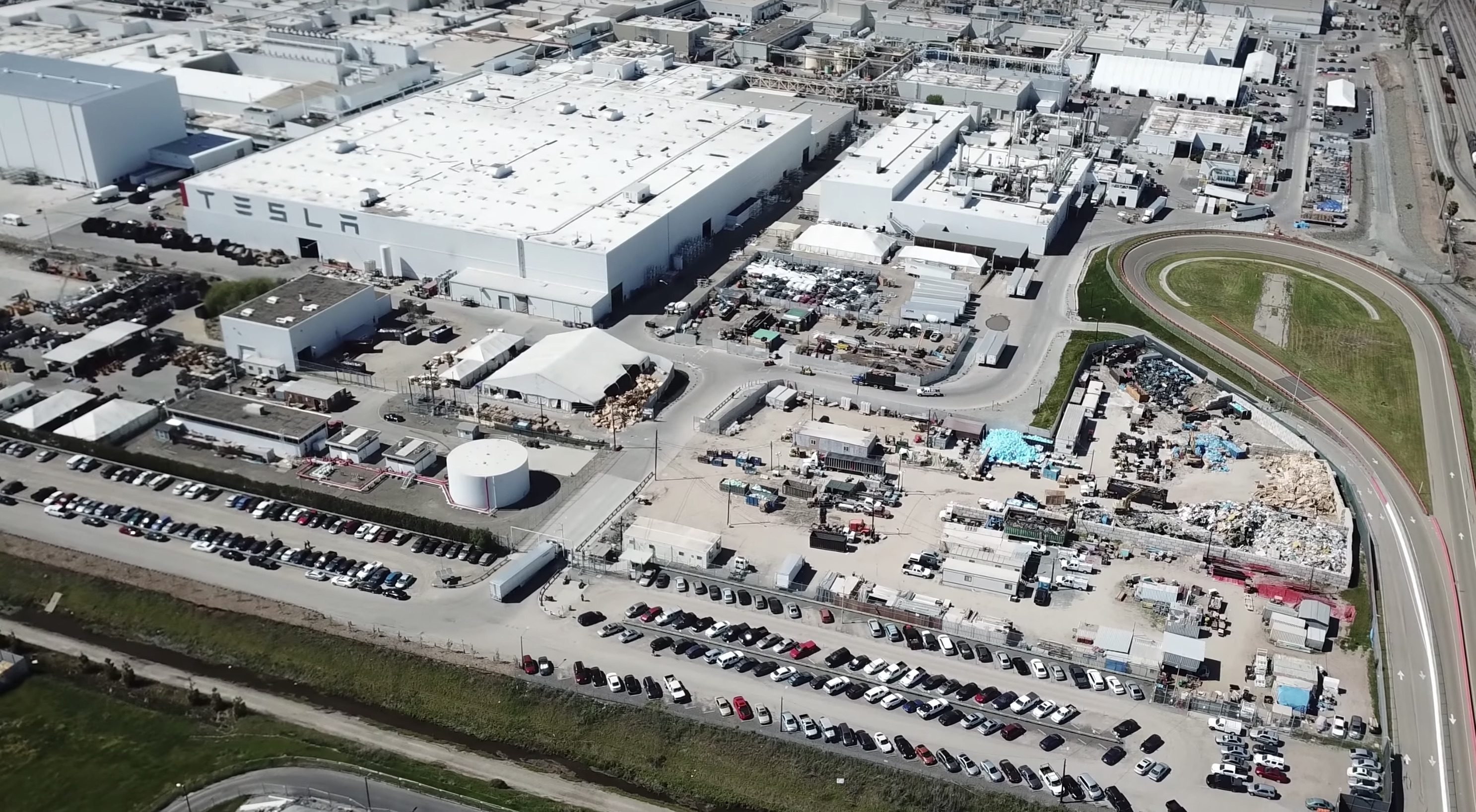 Tesla Fremont Factory Building Permits Reveal Facilities