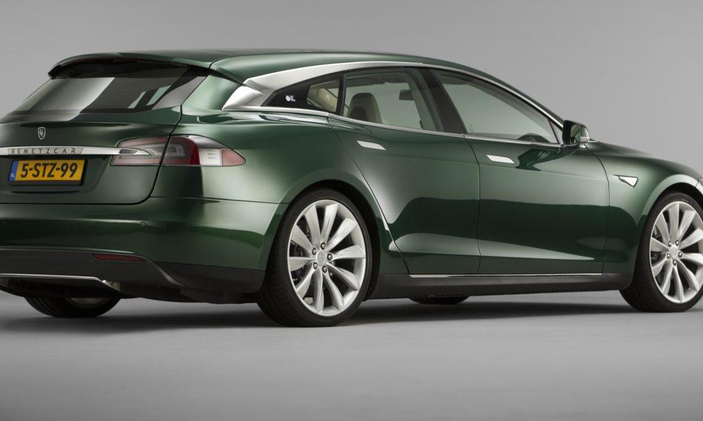 Custom Car Builder Launches Tesla Model S Shooting Brake