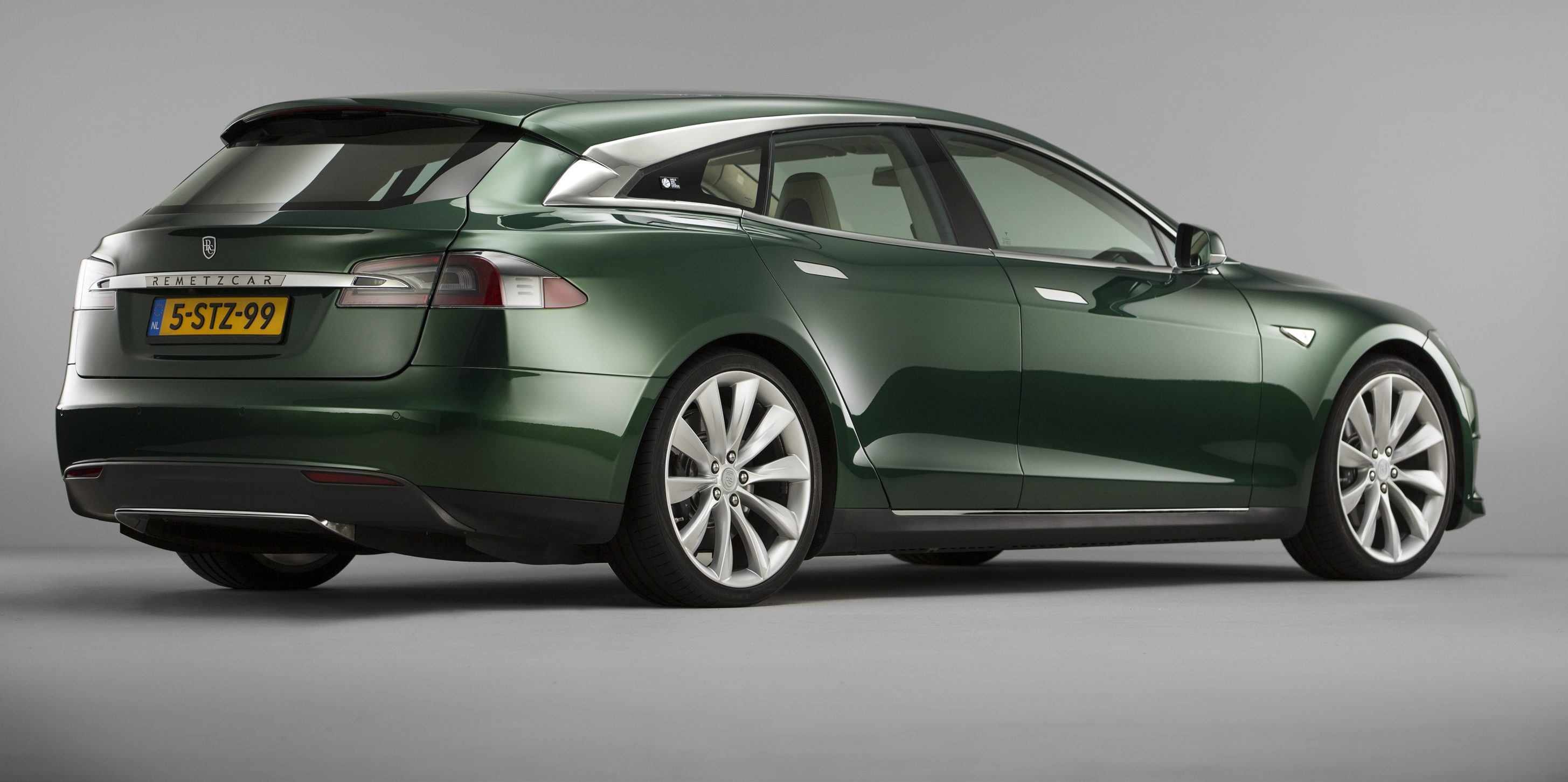 Custom Car Builder Launches Tesla Model S Shooting Brake Wagon In Uk