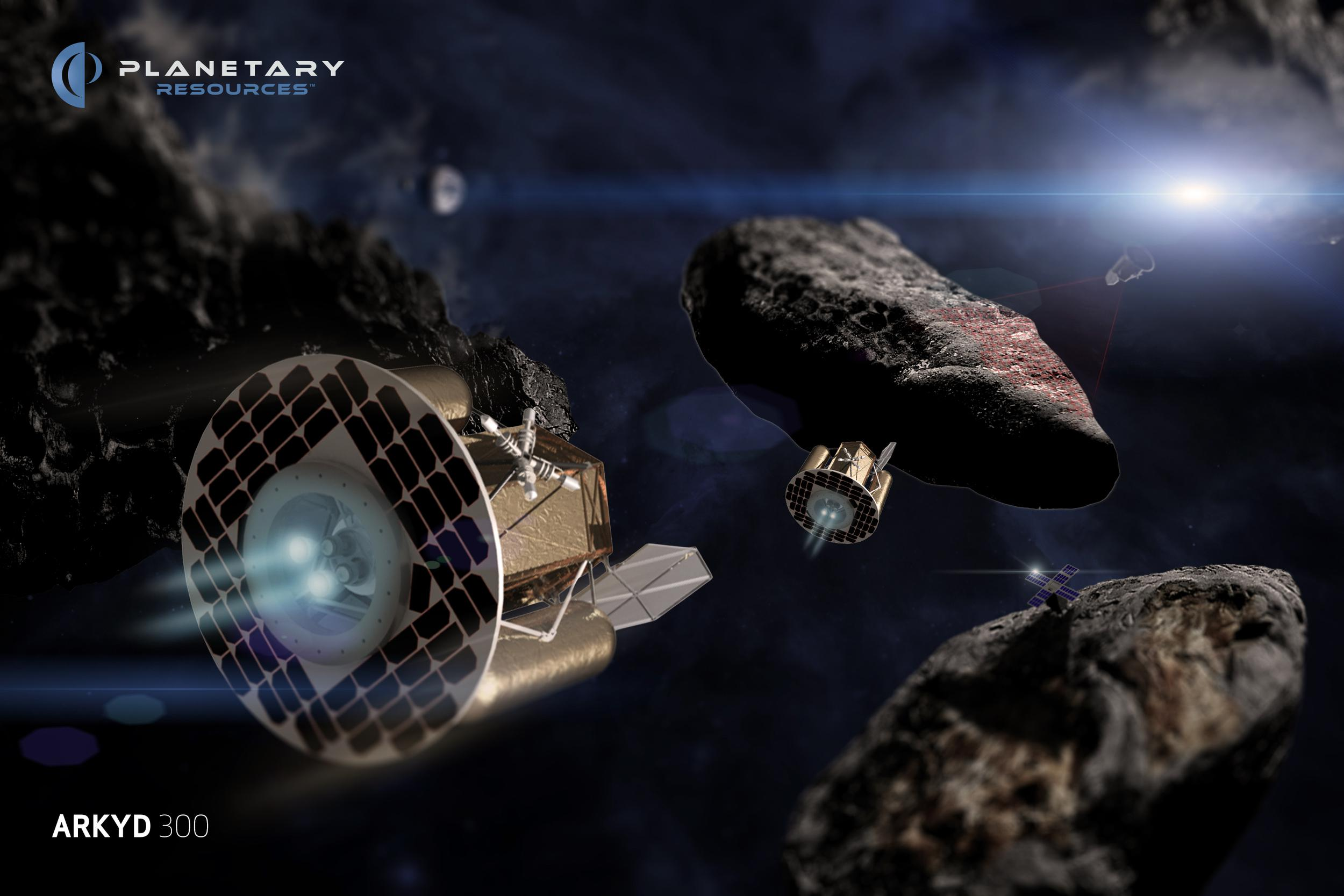 Arkyd prospectors (Planetary Resources)