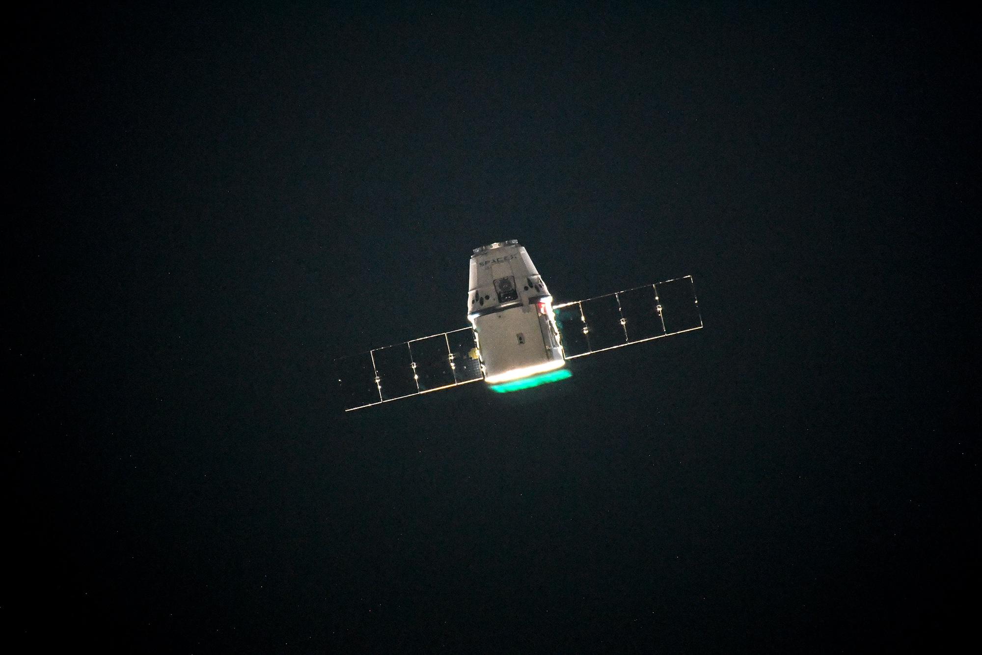 CRS-15 ISS arrival 070218 (Oleg Artemiev) 2
