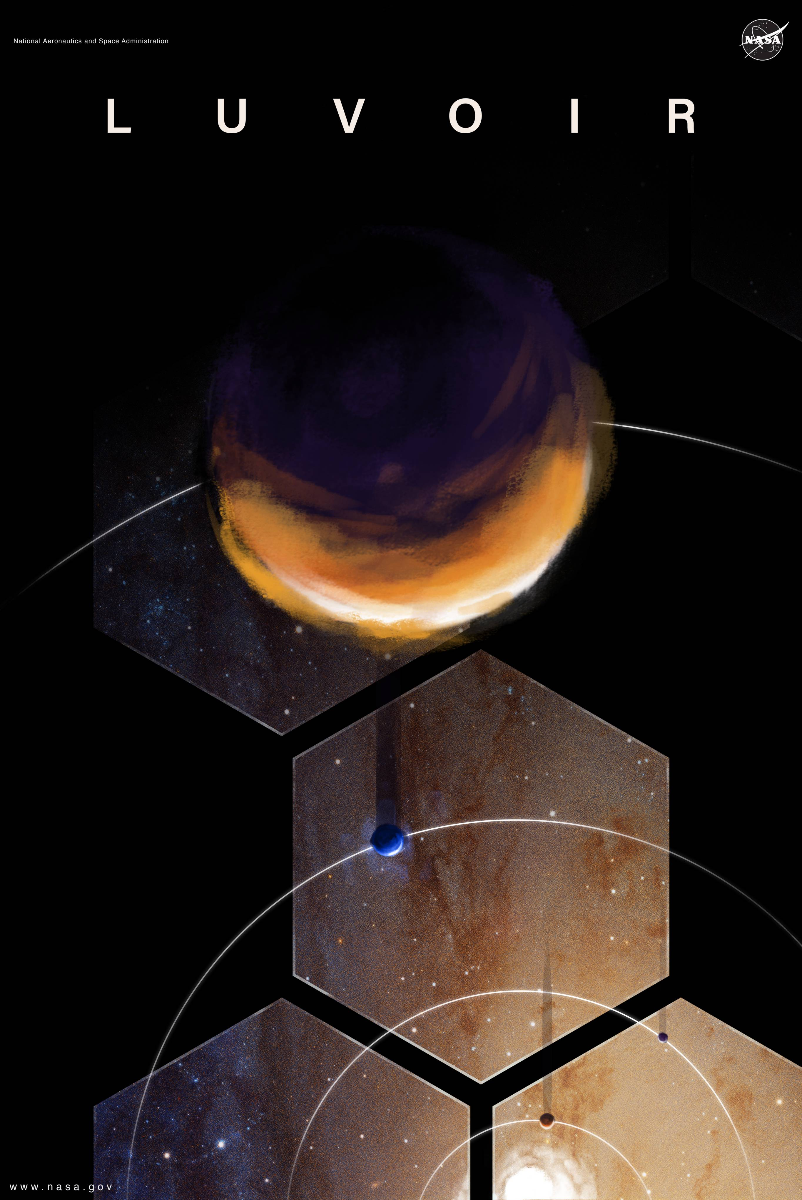 LUVOIR poster (NASA)
