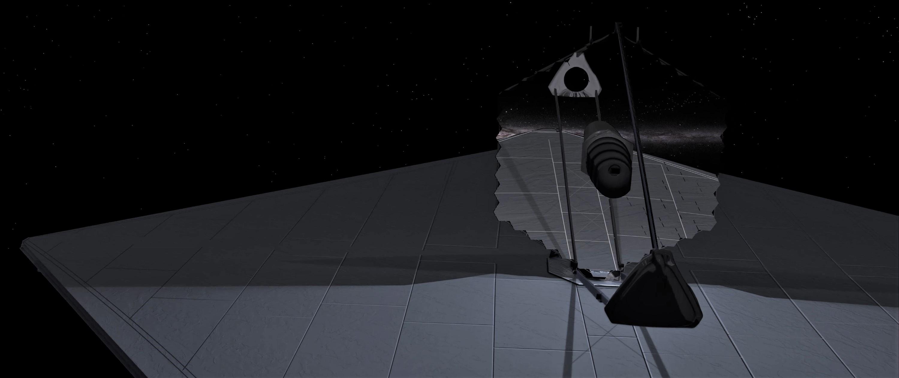 LUVOIR render (NASA) 2