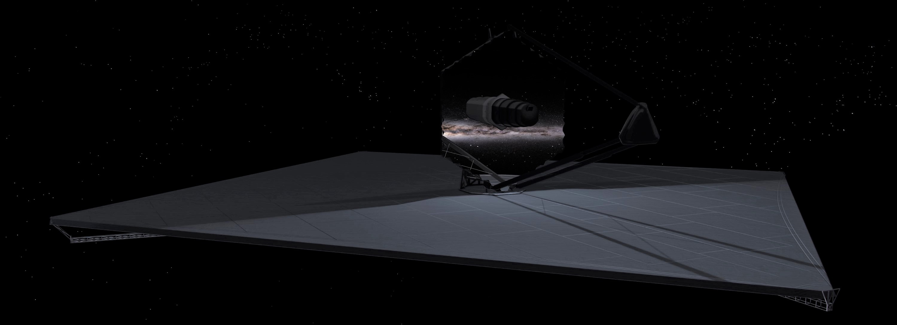LUVOIR render (NASA) 3