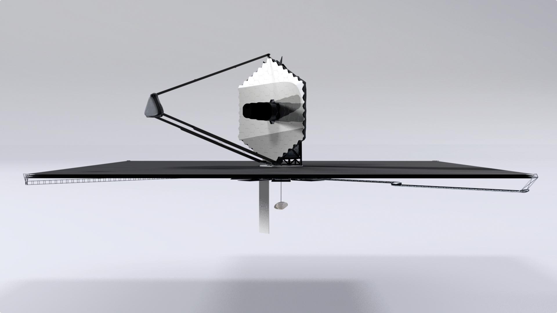 LUVOIR space telescope 15m concept (NASA)