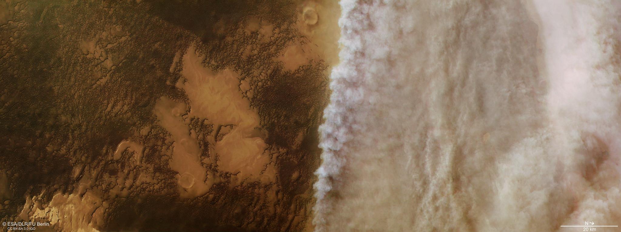 Mars-Dust-Storm