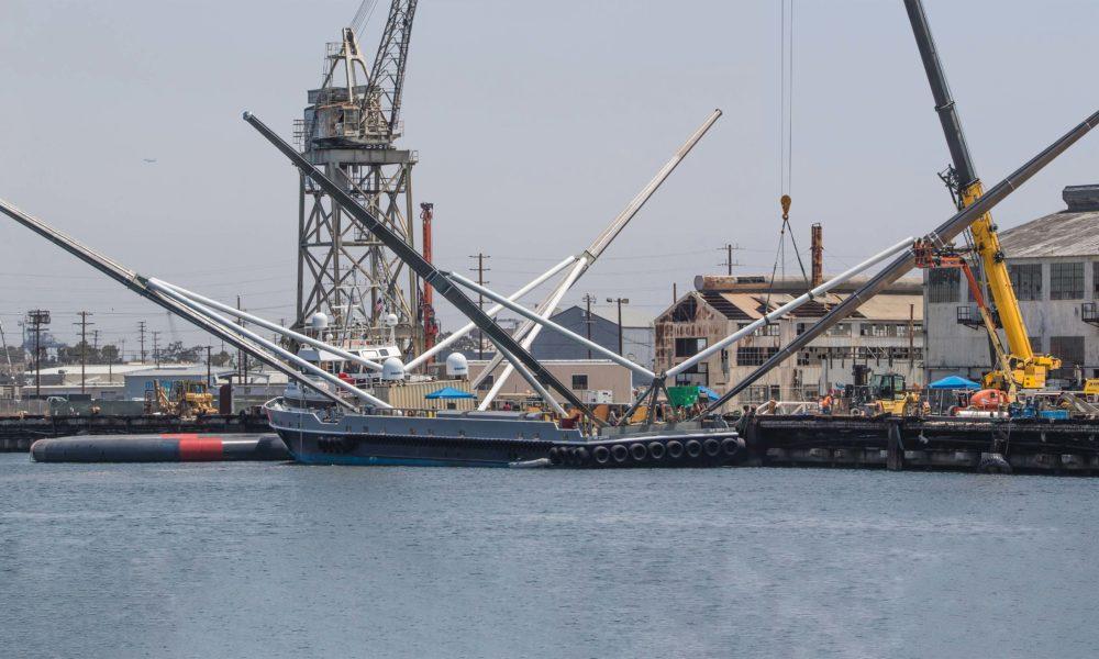 SpaceX aumenta los brazos del barco Mr. Steven para cuadruplicar el área de captura de su red (ING)