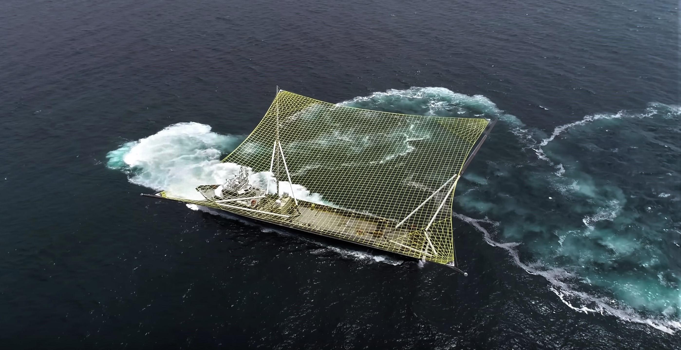 Mr Steven new net sea trials July 2018 4