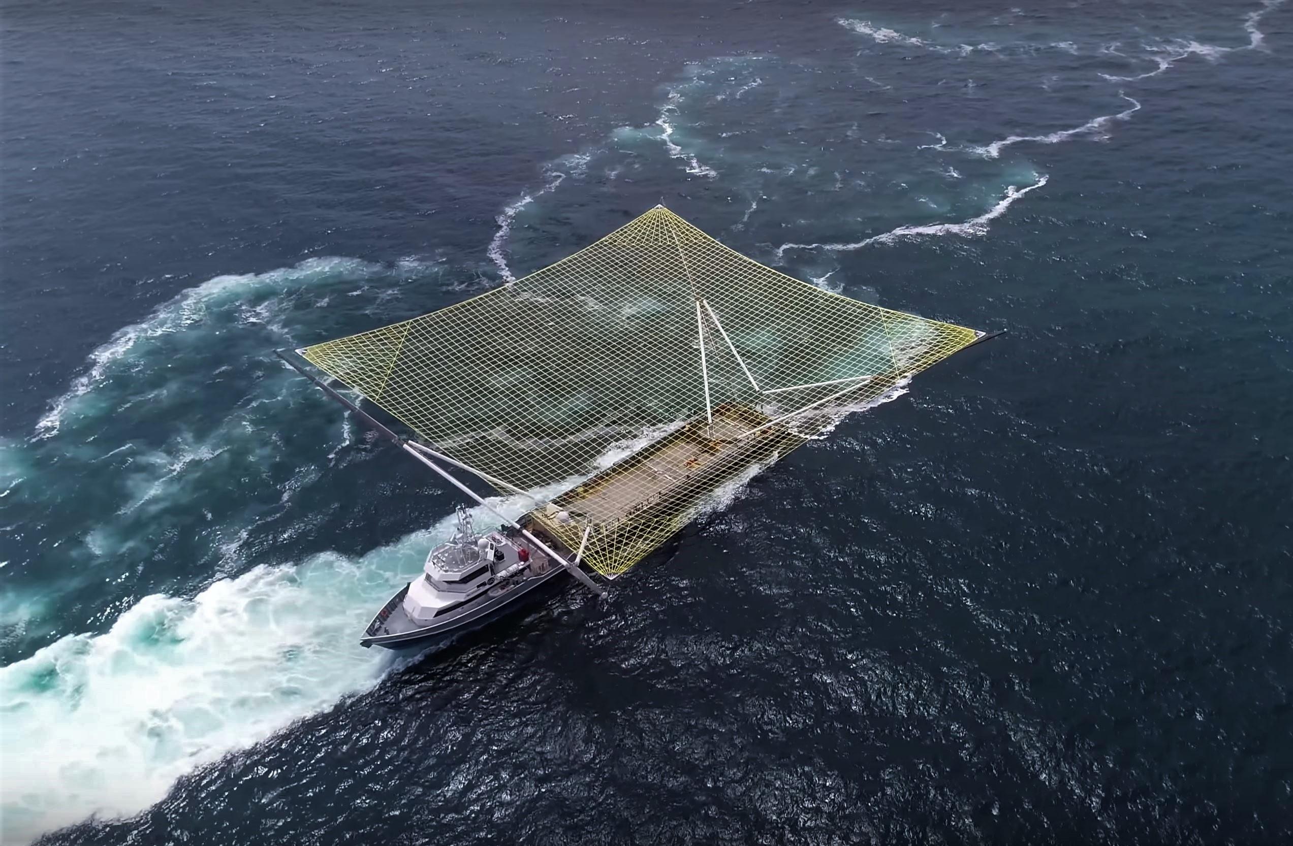 Mr Steven new net sea trials July 2018 6