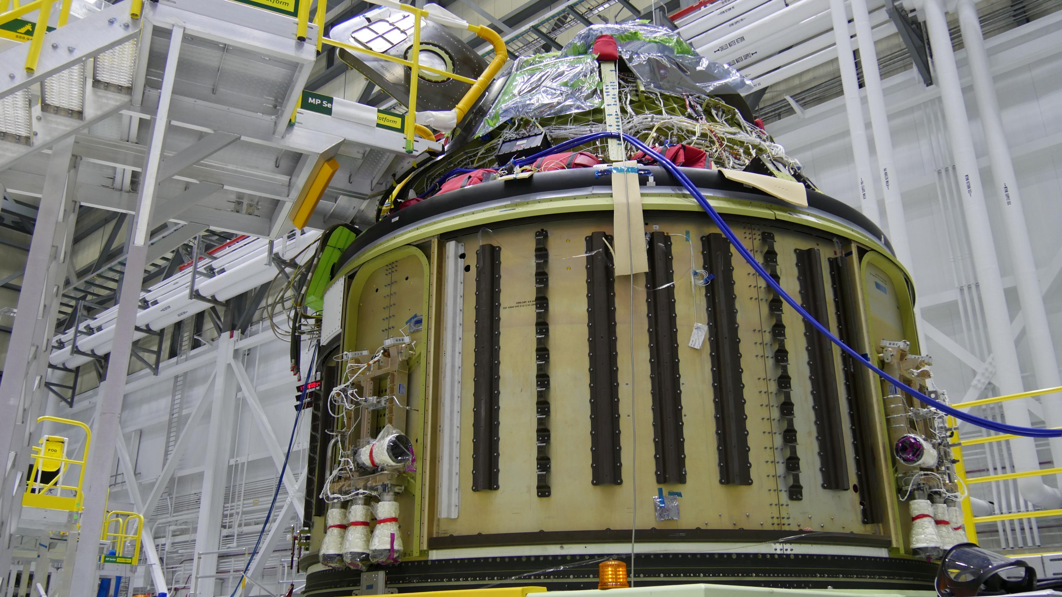 Starliner Pad Abort capsule (NASA)