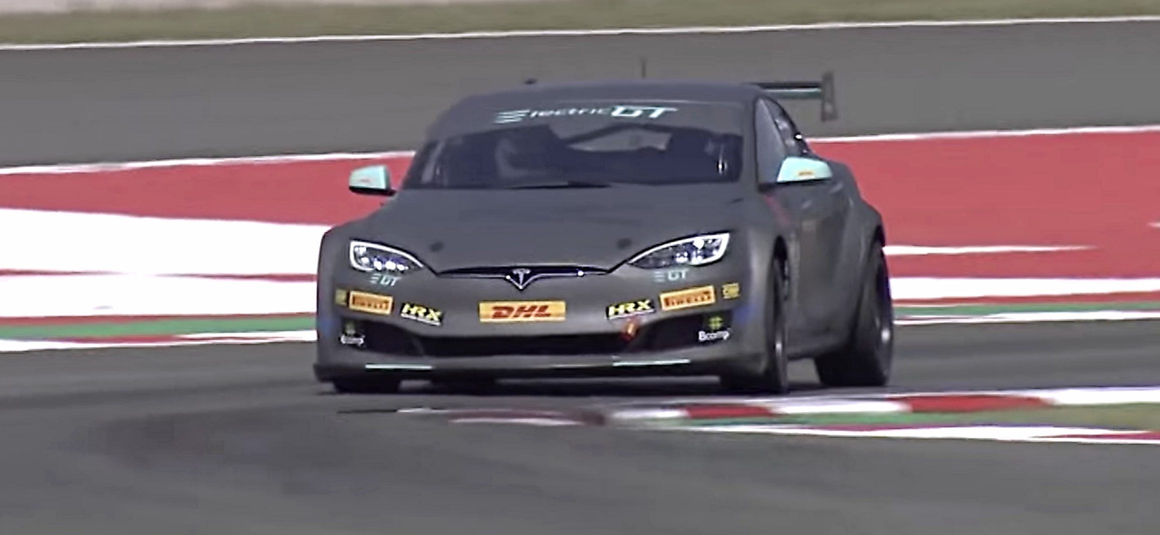 Tesla Model S P100dl Electric Gt Race Car Track Tested By Top Gear Veteran