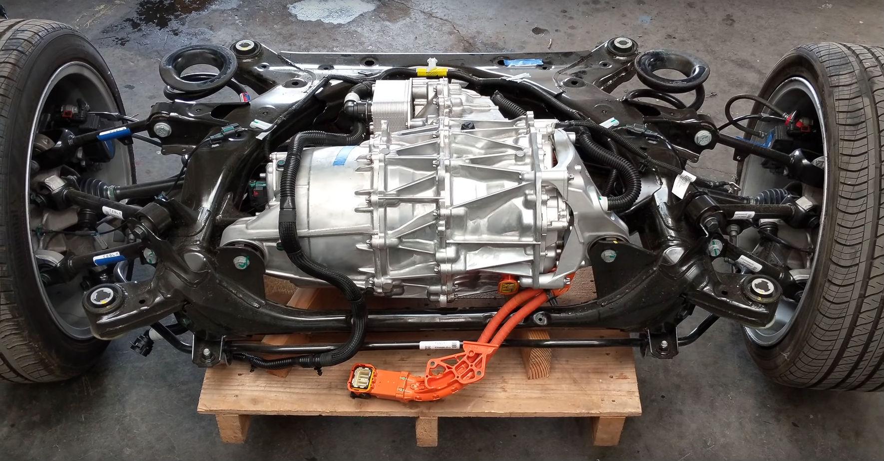 Tesla's simple Model 3 drivetrain design is key to its mass market future
