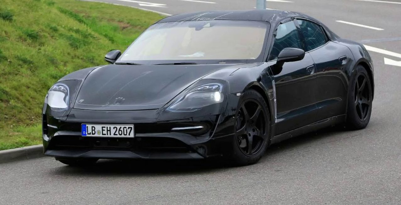 Porsche Continues Refining The Taycan S Track Abilities In