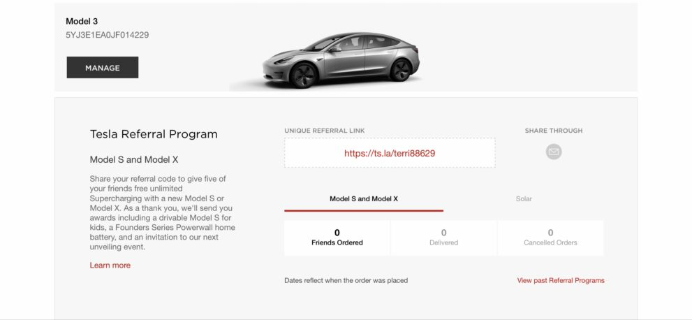 Tesla Model 3 owners are finding out that the Referral Program also