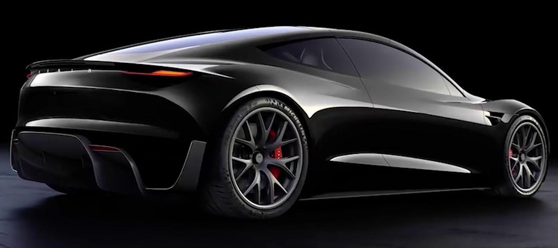 Tesla Roadster Black Teslarati