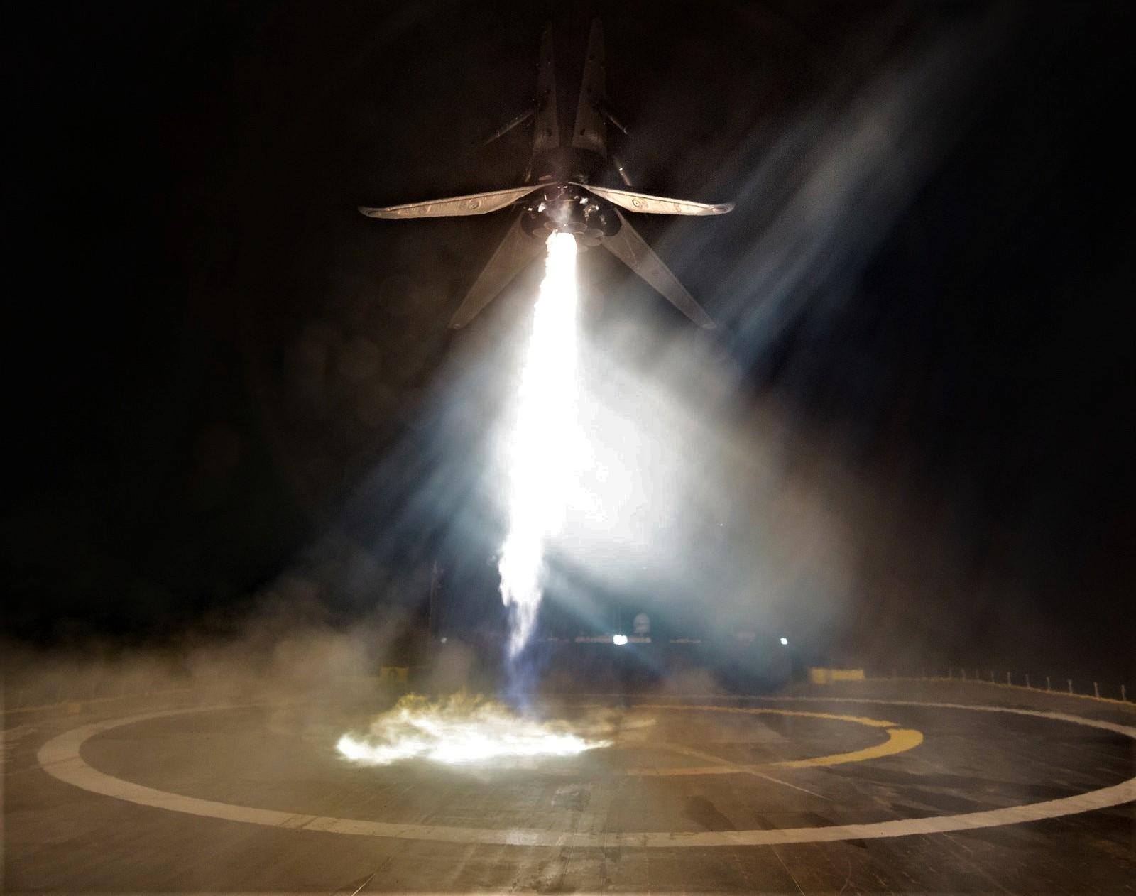 B1046 Telkom 4 landing OCISLY (SpaceX) crop
