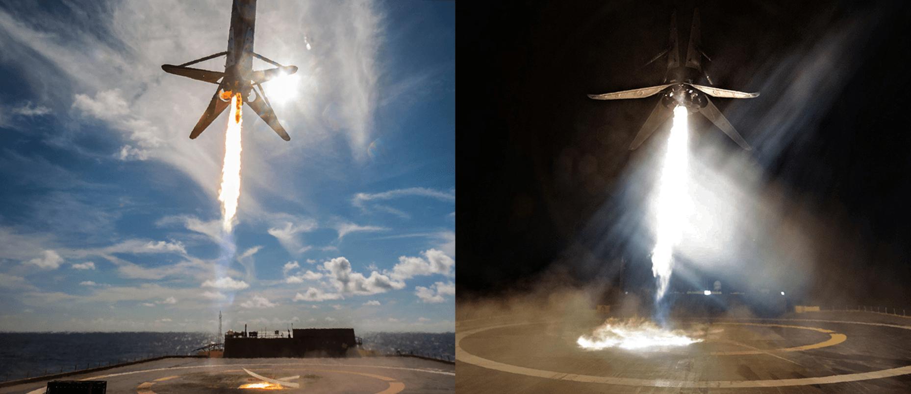 B1046 two landings – three months (SpaceX)