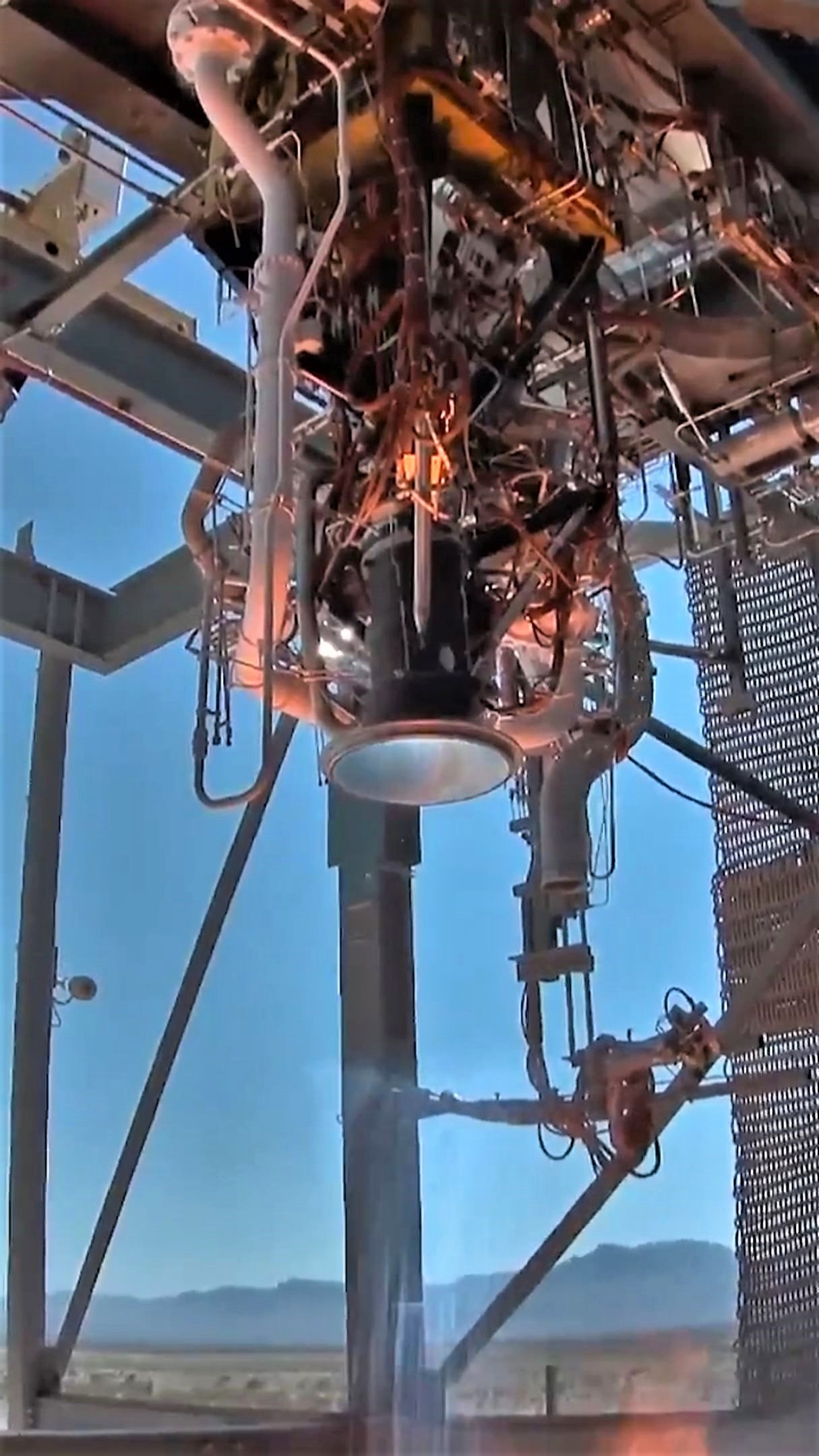 BE-3U static fire testing August 2018 (Blue Origin)