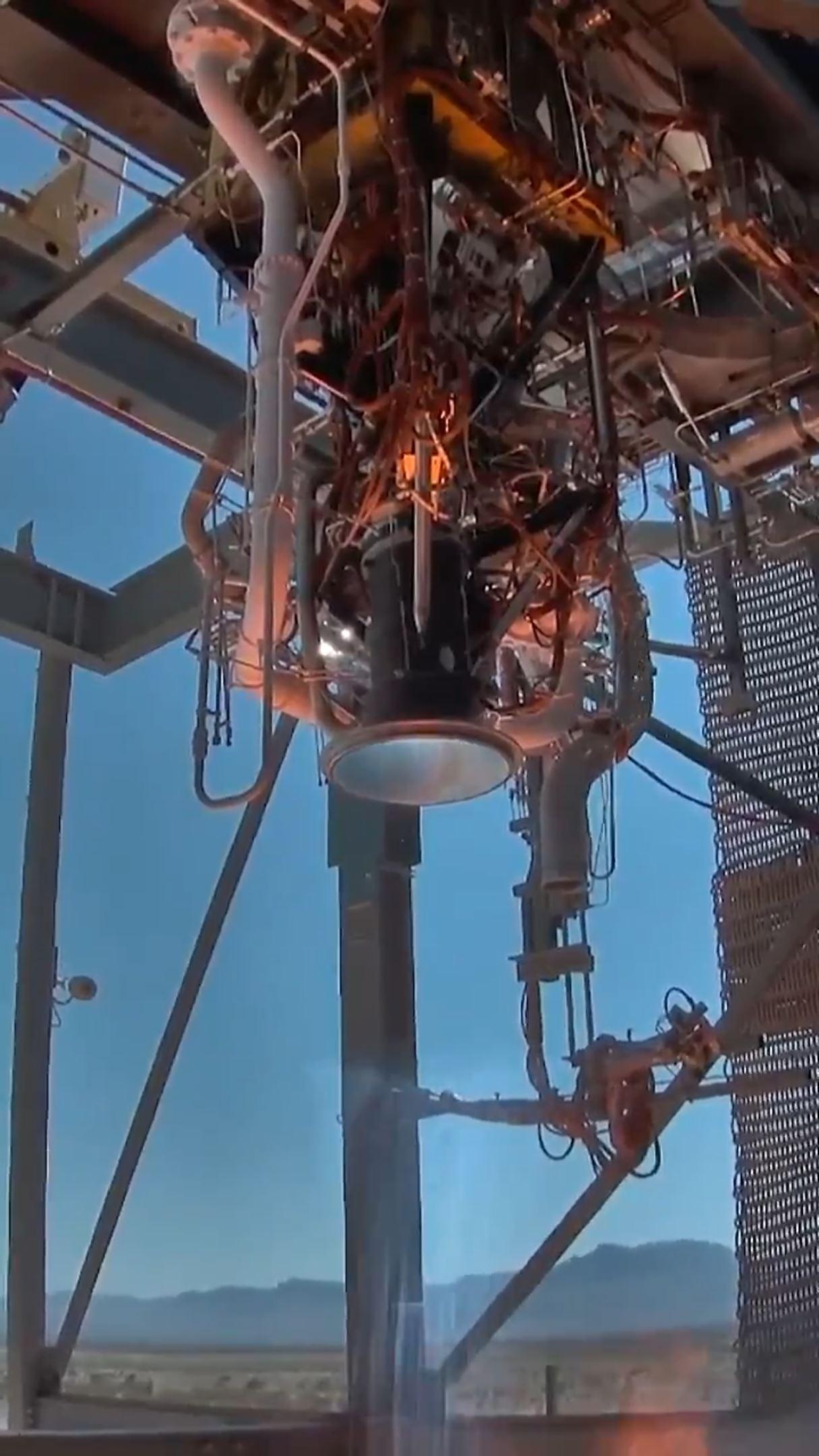 BE-3U static fire testing August 2018 (Blue Origin)