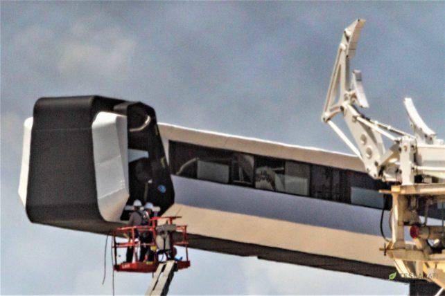SpaceX's futuristic Crew Dragon astronaut walkway is ready ...