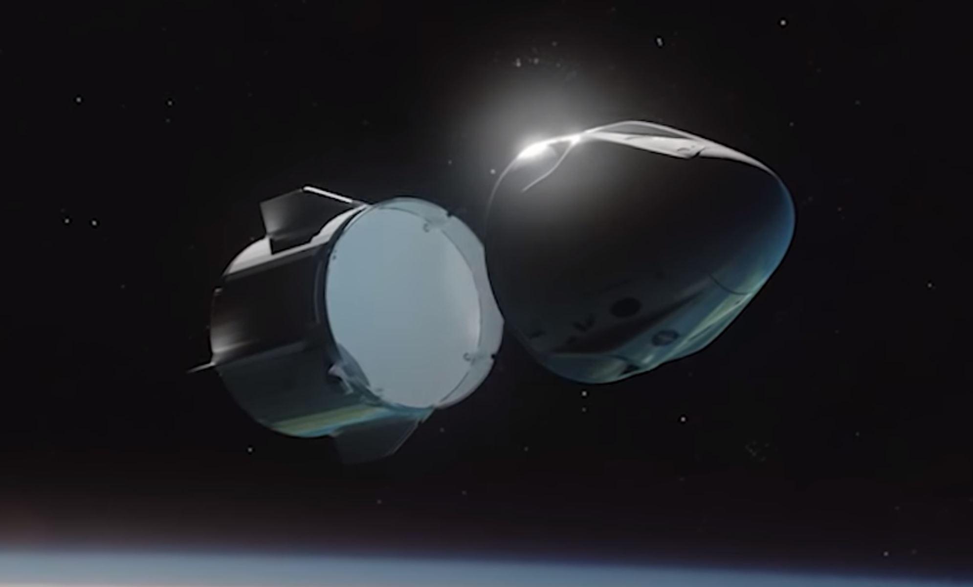 Crew Dragon trunk attach points (SpaceX) 1