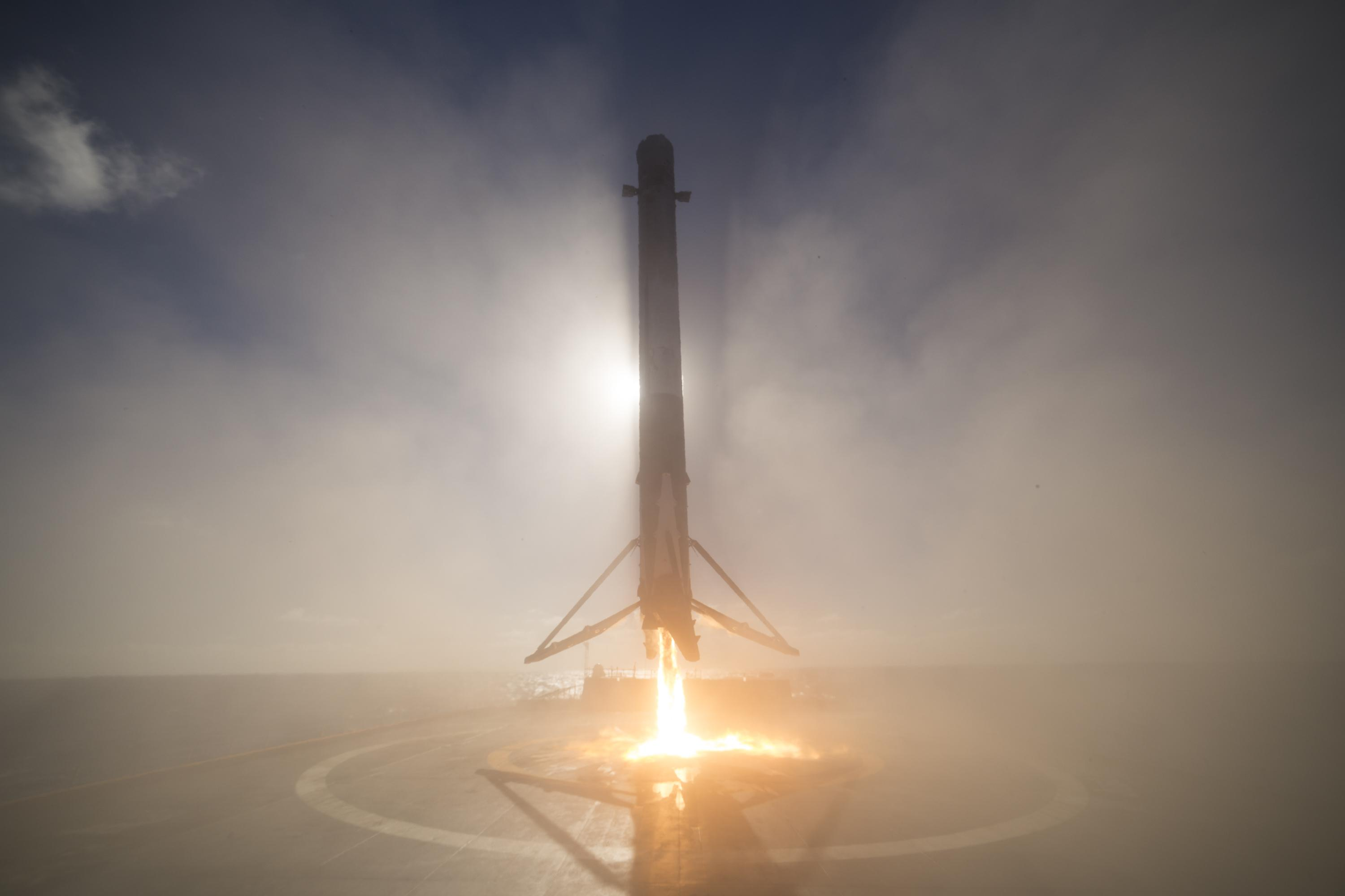 Iridium-1 landing January 2017 (SpaceX)