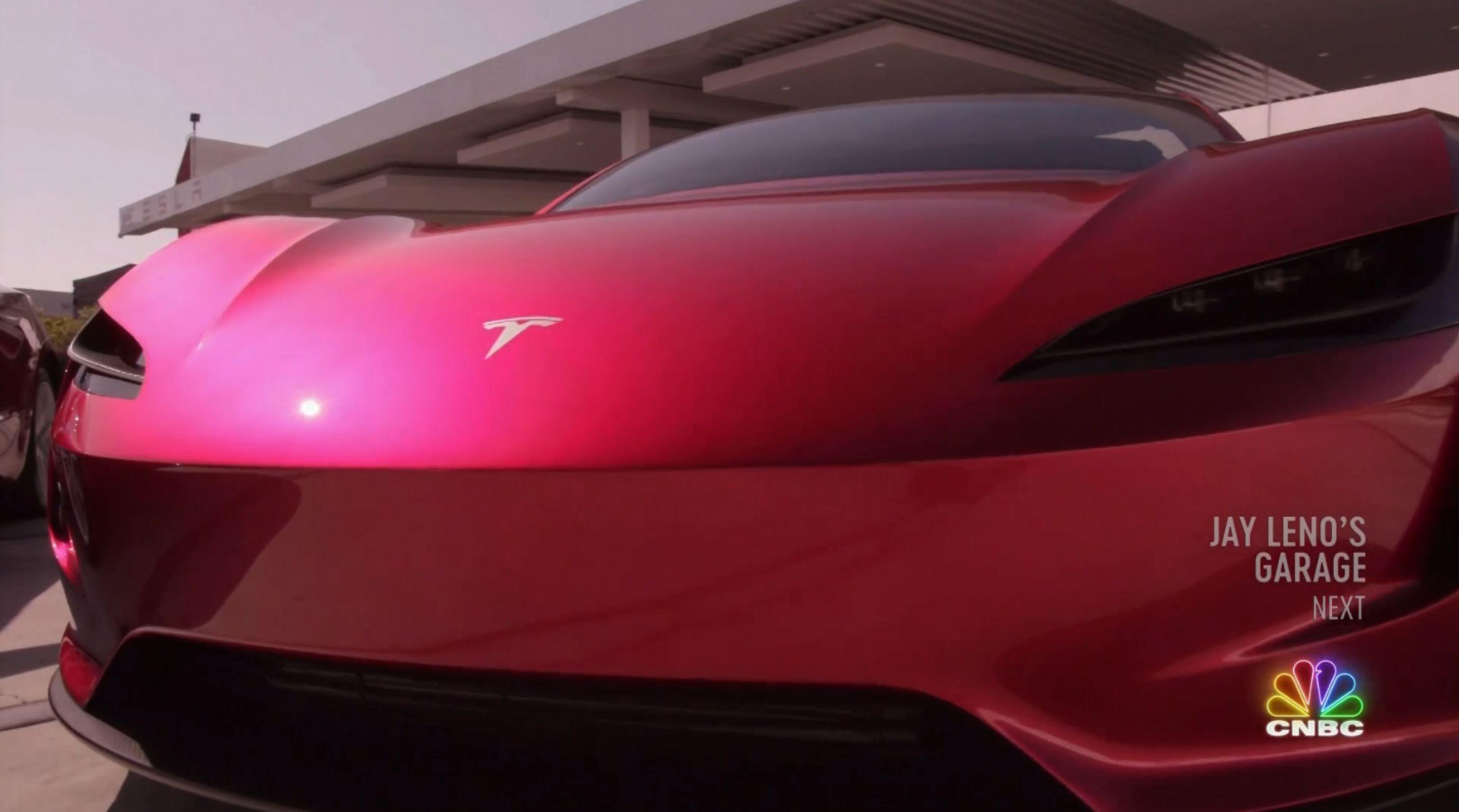 Jay Leno Tesla Franz segment (NBC) 14