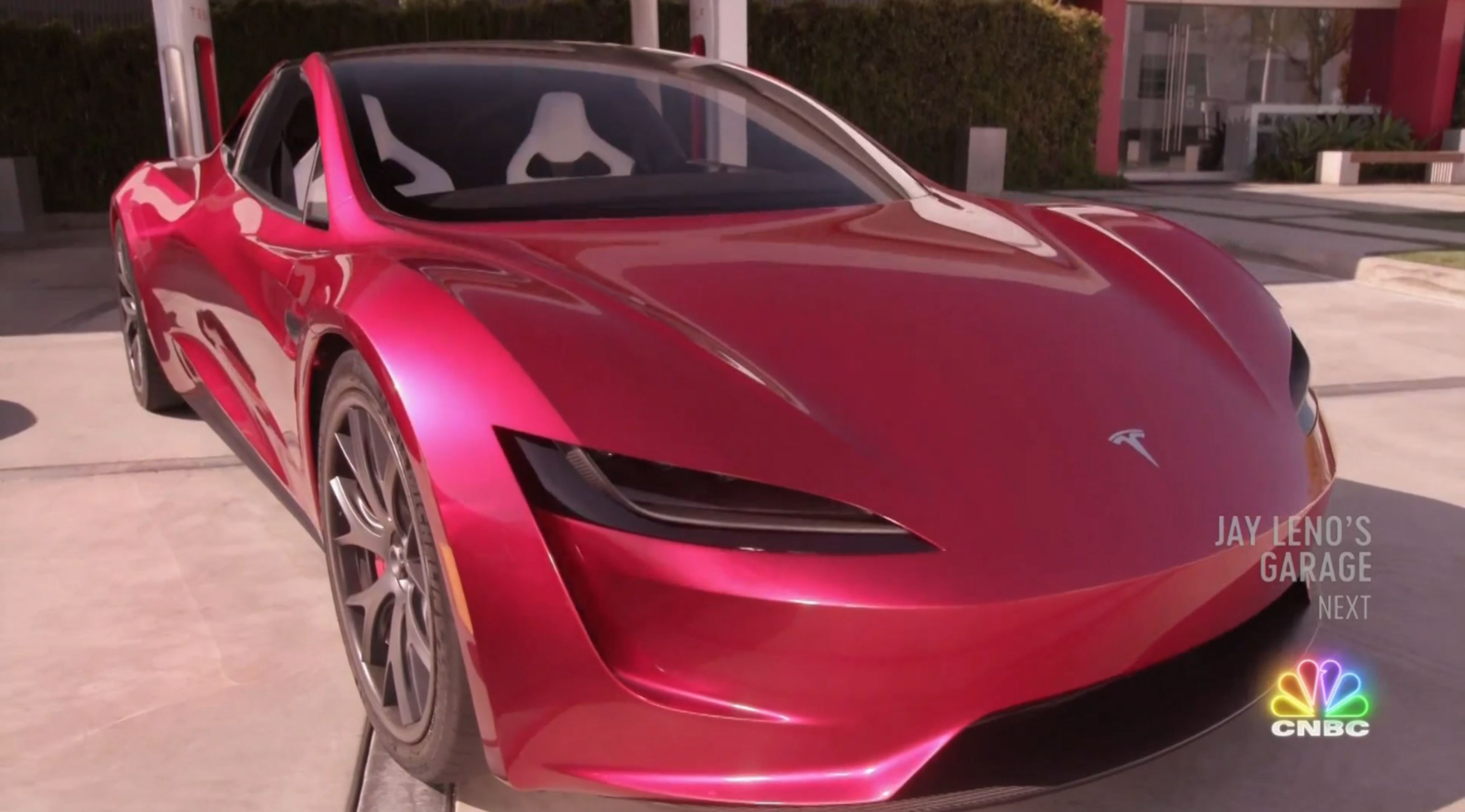Jay Leno Tesla Franz segment (NBC) 15