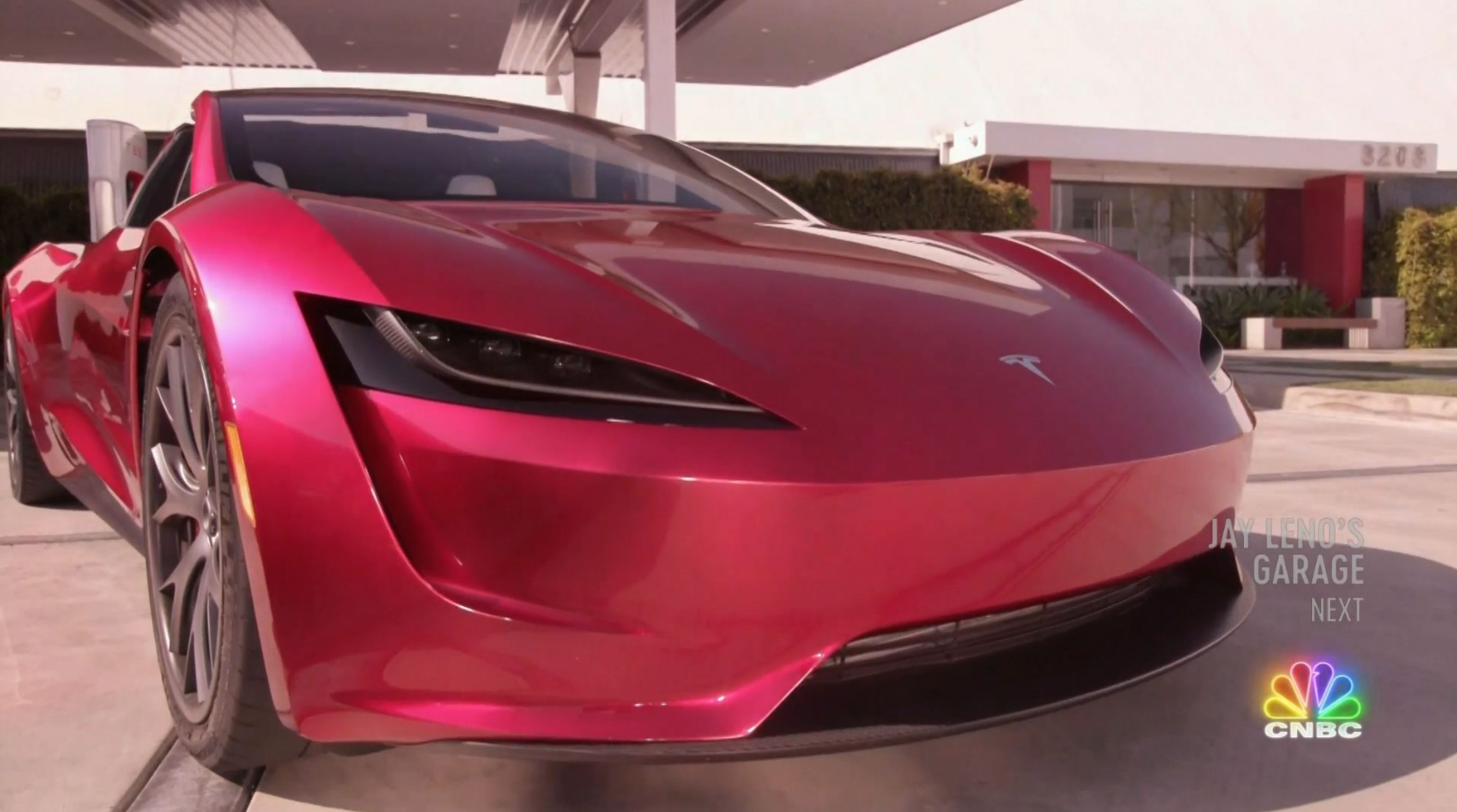 Jay Leno Tesla Franz segment (NBC) 18