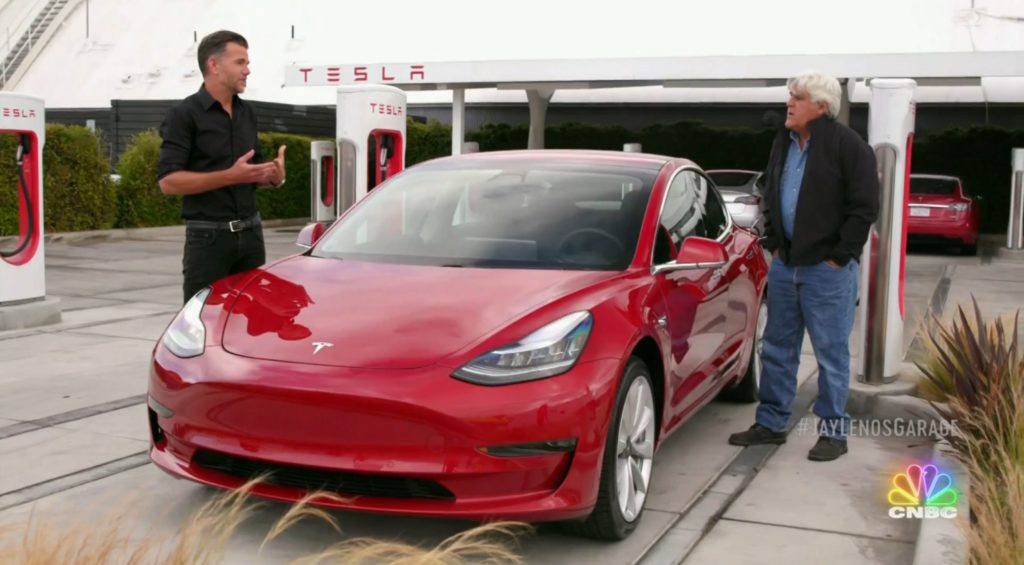 Tesla enthusiast Jay Leno issues bold prediction about EVs ...