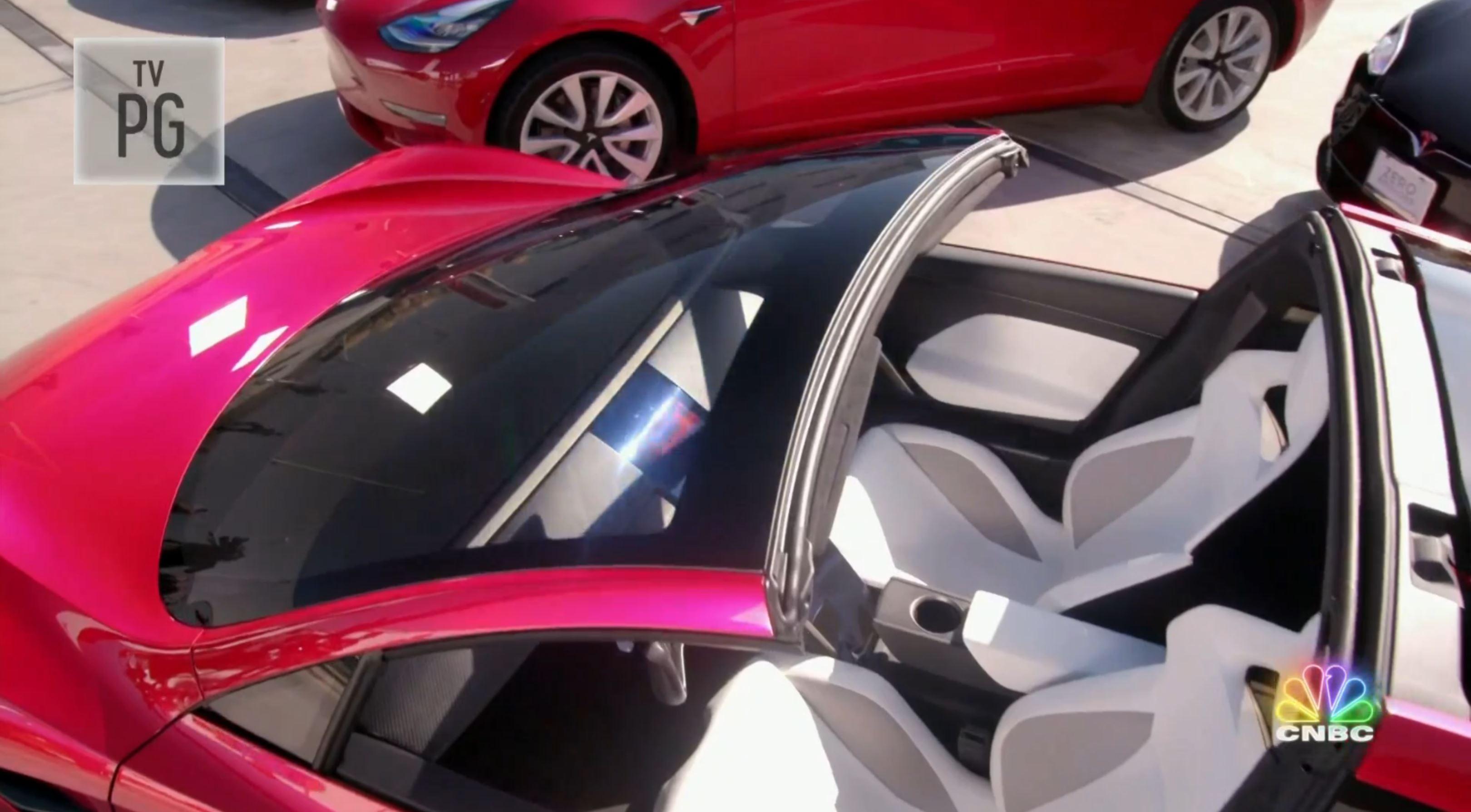 Jay Leno Tesla Franz segment (NBC) 7