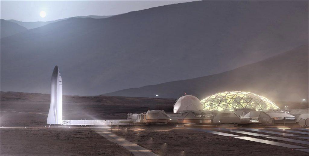 Mars Base And Bfs Crop Spacex Teslarati
