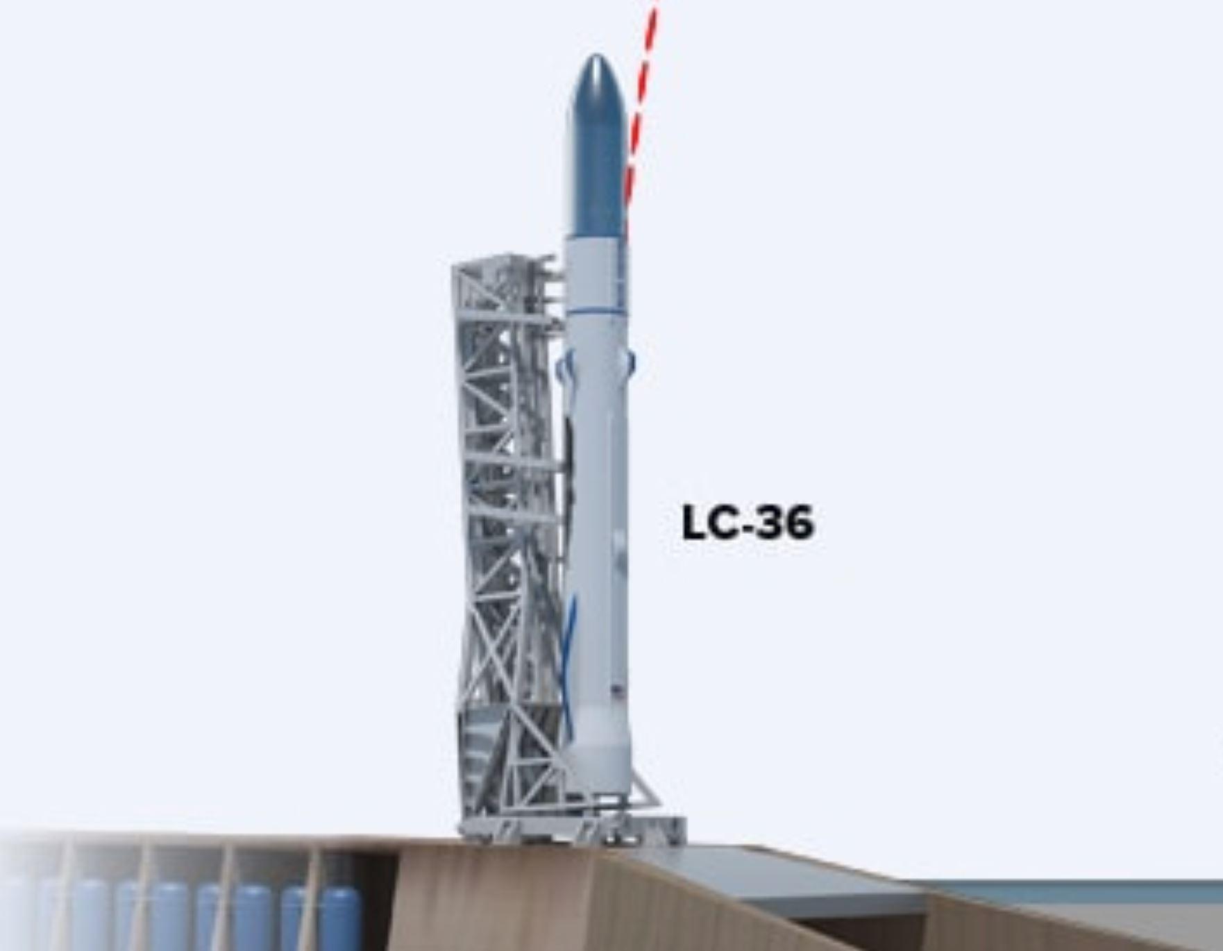 New Glenn LC-36 launch site concept (Blue Origin)