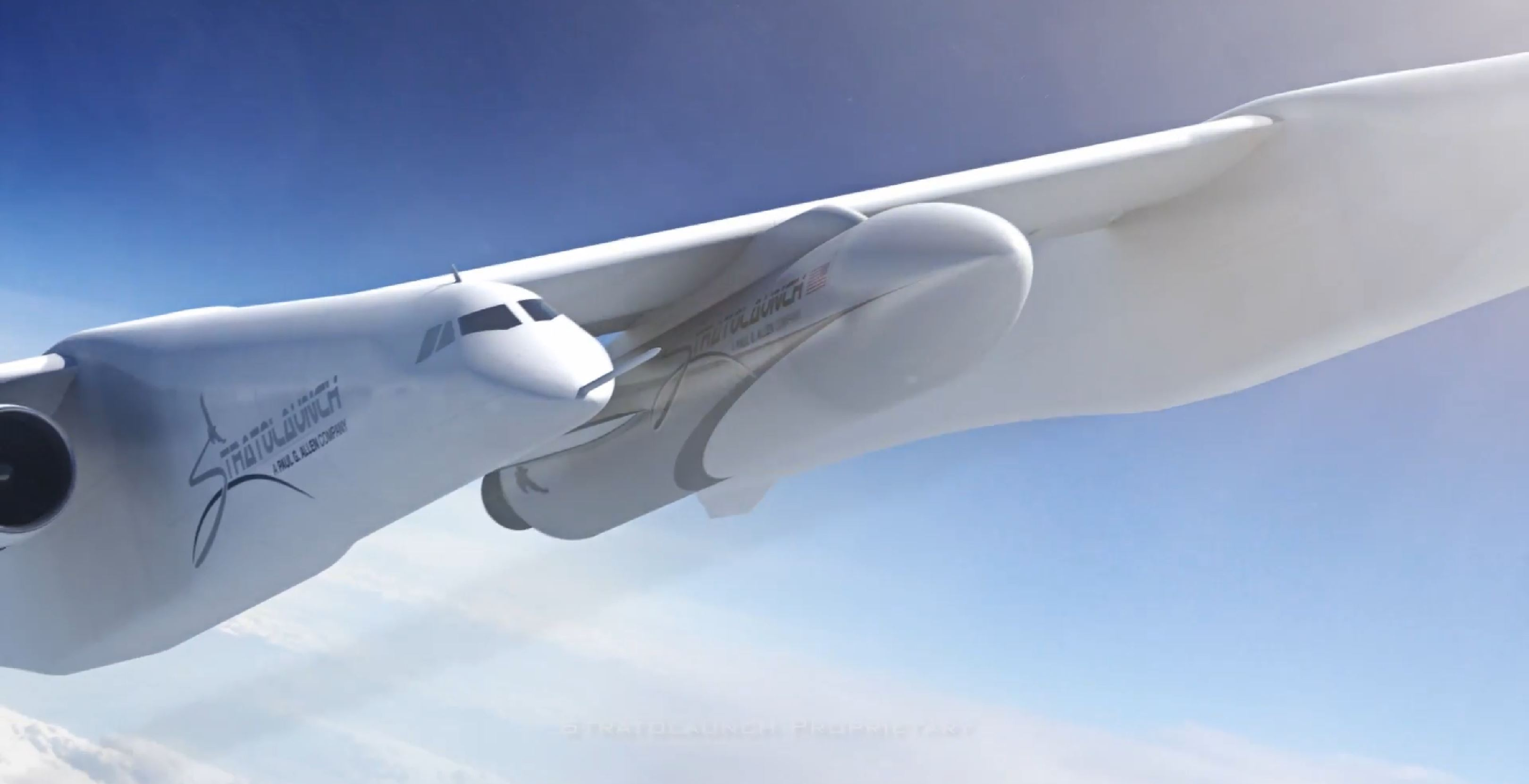Roc and rocket (Stratolaunch) 2