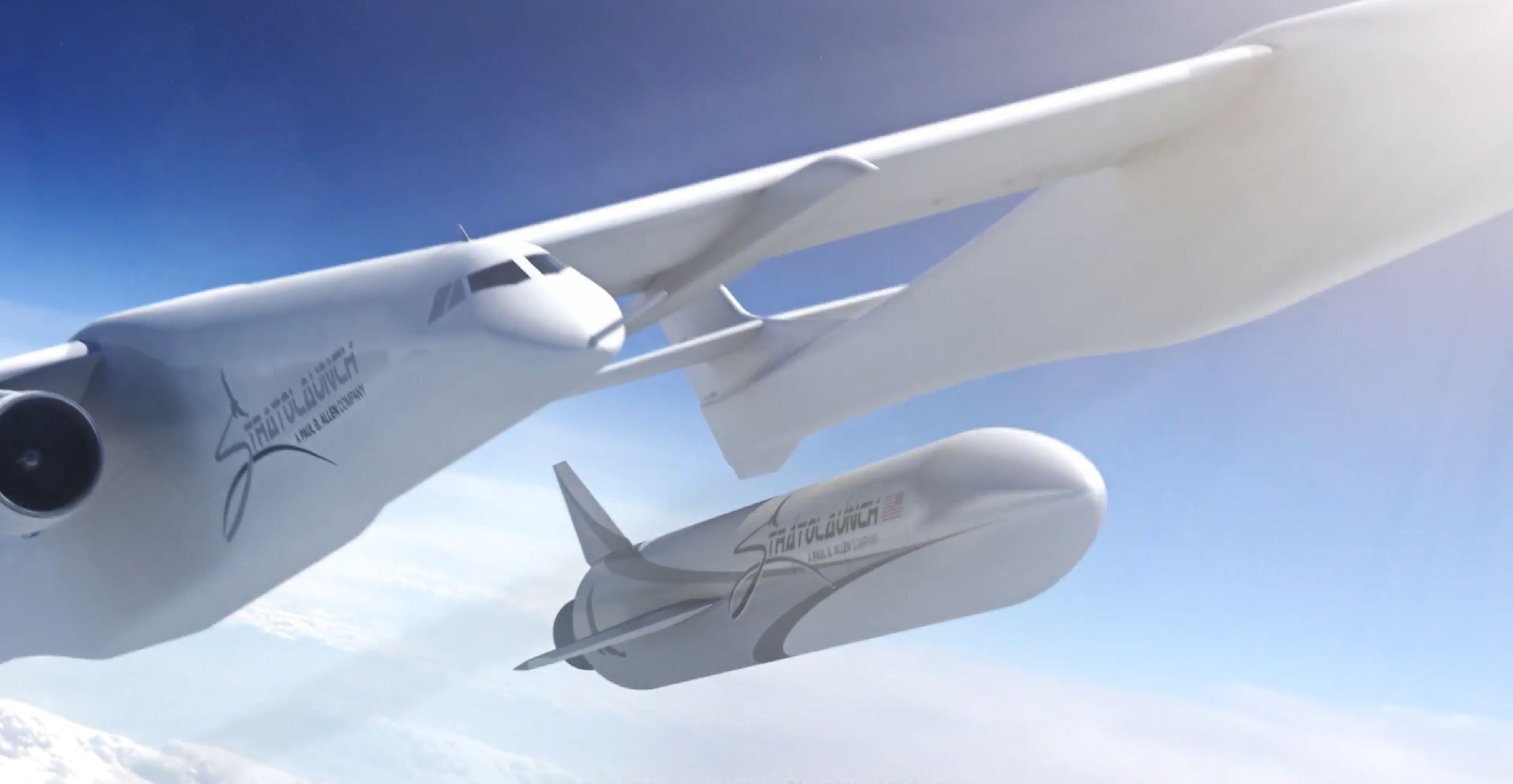 Roc and rocket (Stratolaunch) 3