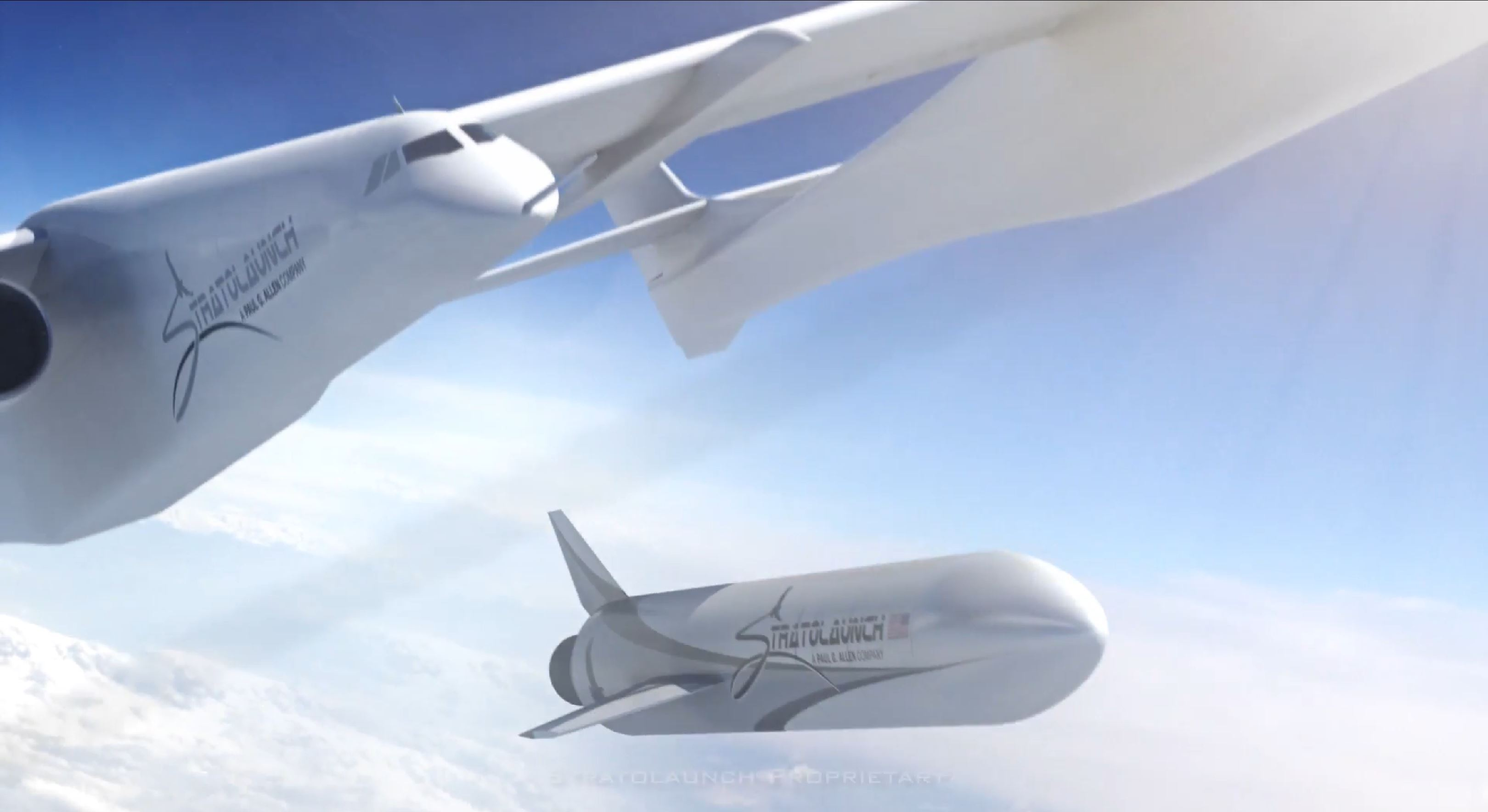 Roc and rocket (Stratolaunch) 4
